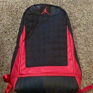 Jordan Air Jordan Black Red Retro 13 Backpack